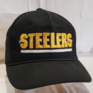 Pittsburgh Steelers hat.